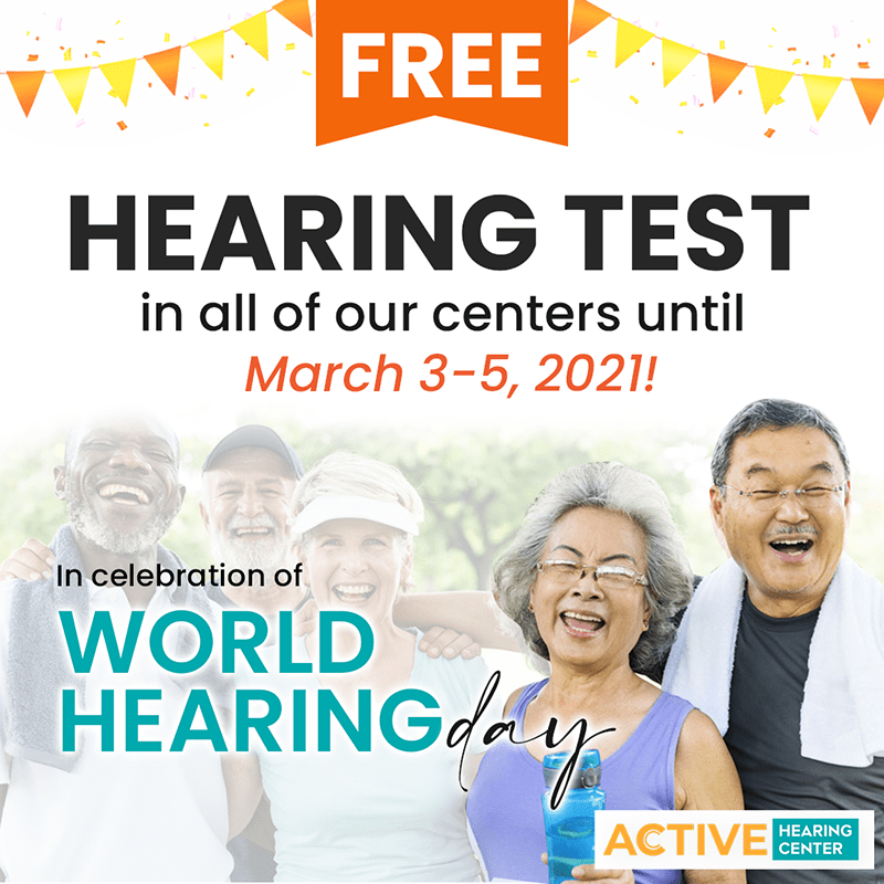 Free Hearing Test on World Hearing Day